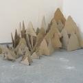 les villes invisibles, maquette pour la Biennale de la jeune création de Houilles, 2010