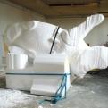 Suggestion de présentation, sculpture, polystyrène 2010